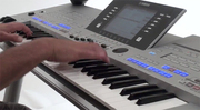 Yamaha Tyros4 Arranger Workstation Keyboard