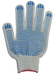 Продаем рабочии перчатки ХБ с ПВХ покрытием