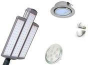 Светодиодные светильники продажа и установка.