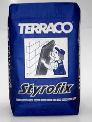 Стайрофикс. Клей для пенополистирола и минераловатных плит.