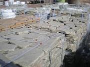 Камень галтованный серо-зелёный натуральный природный