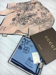 Фирменные платки Gucci