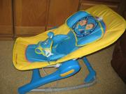детское кресло качалка (шезлонг)