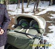 Продам коляску для близнецов